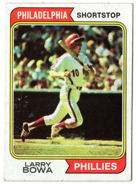 1974 Larry Bowa Topps #255