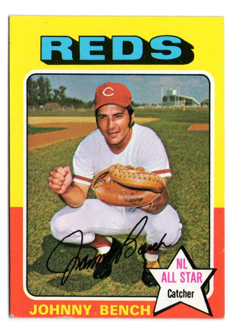 1975 Johnny Bench Topps 260