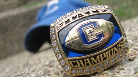 CovCath State Champs Ring